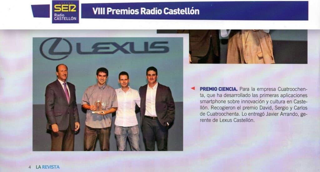 La-Revista-Radio-CS-Cadena-Ser-Premio