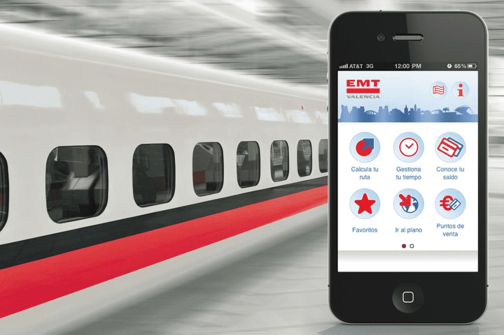 App EMT desarrollada por Cuatroochenta
