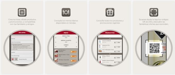 App ZAZ Food Store