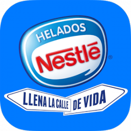 Helados Nestlé, app desarrollada por Cuatroochenta
