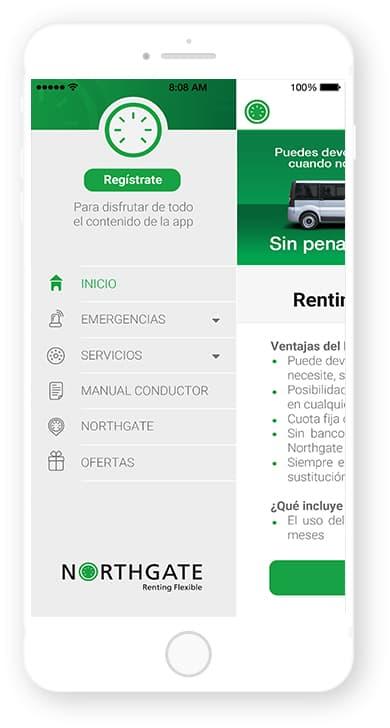 Northgate, app desarrollada por Cuatroochenta