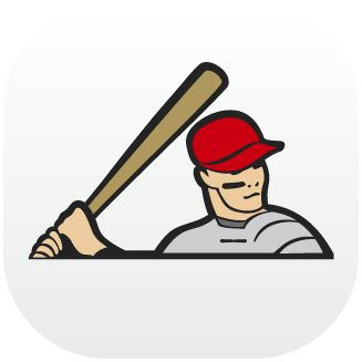 Icono tubeisbol, app desarrollada por Cuatroochenta