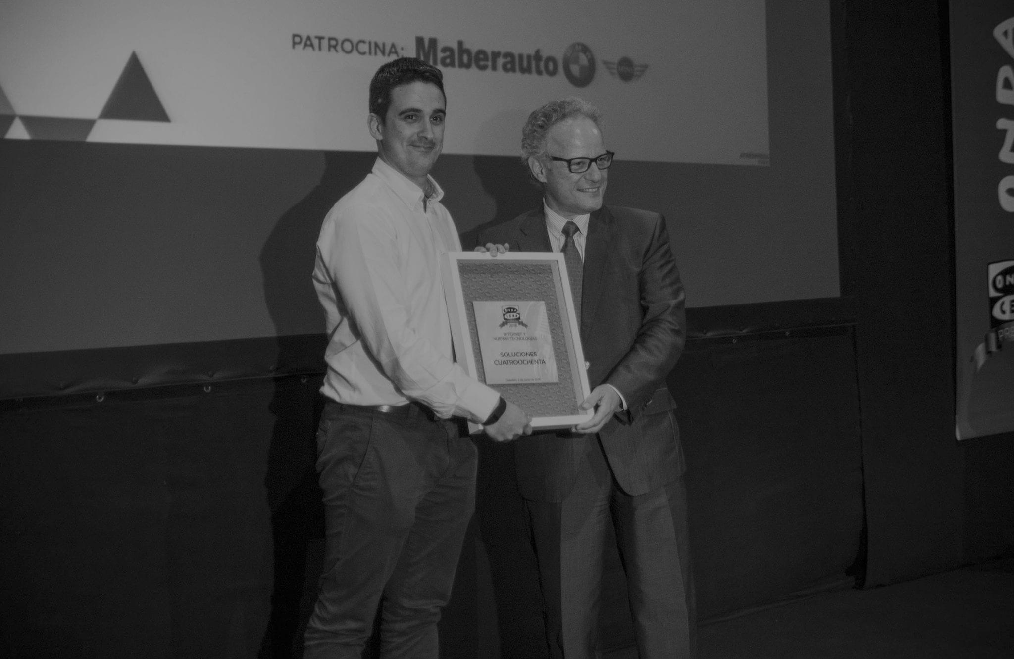 Alfreco R. Cebrián Premio Onda Cero Castellón