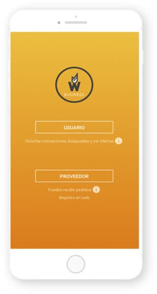 We Find Business, app desarrollada por Cuatroochenta