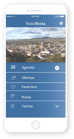 App TodoYecla desarrollada por Cuatroochenta