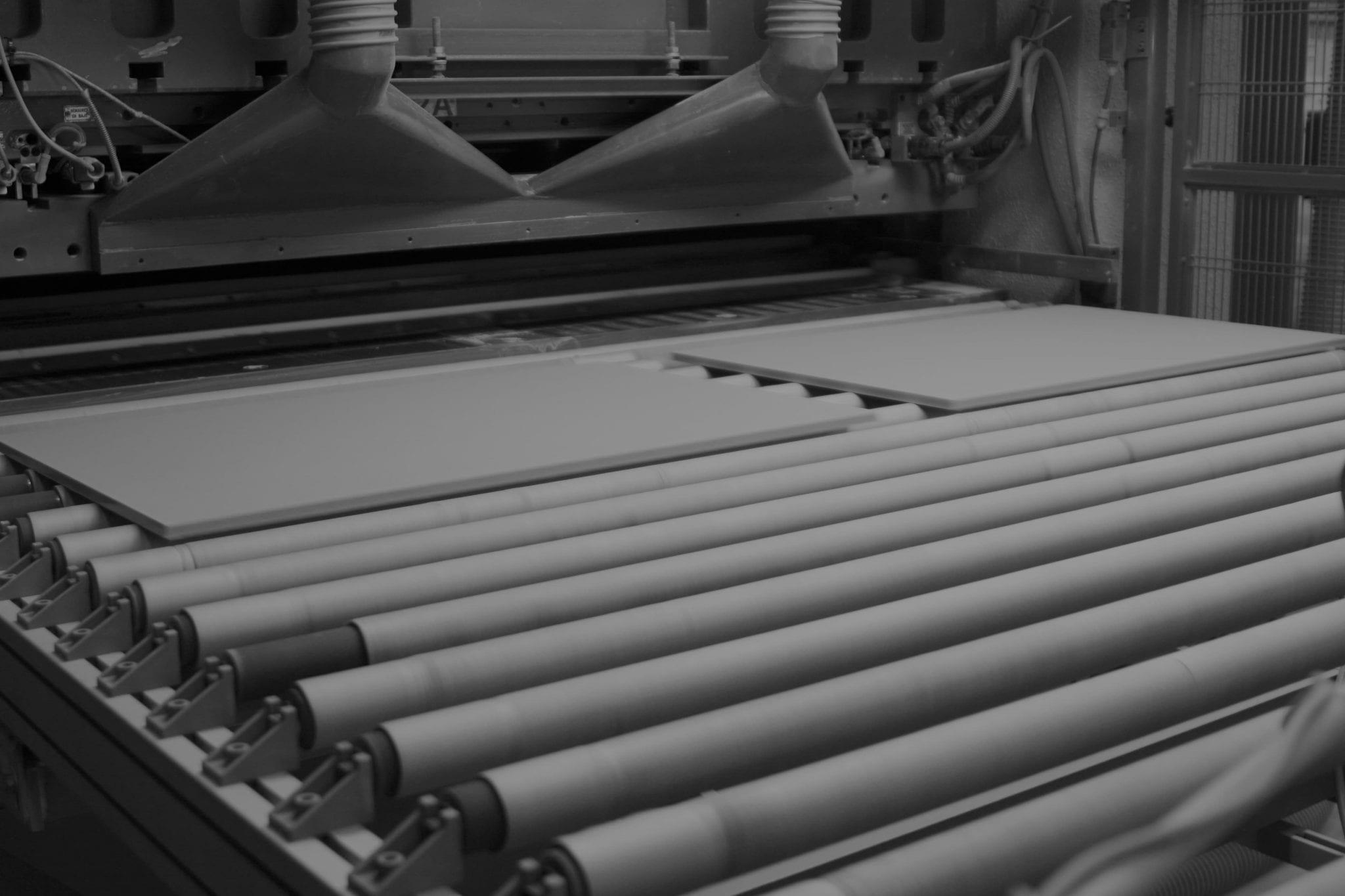 prensa cerámica