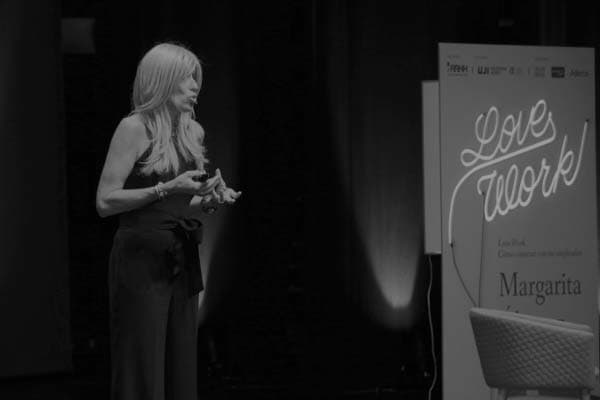 Margarita Álvarez durante el acto de entrega del VI premio Creación de Empleo