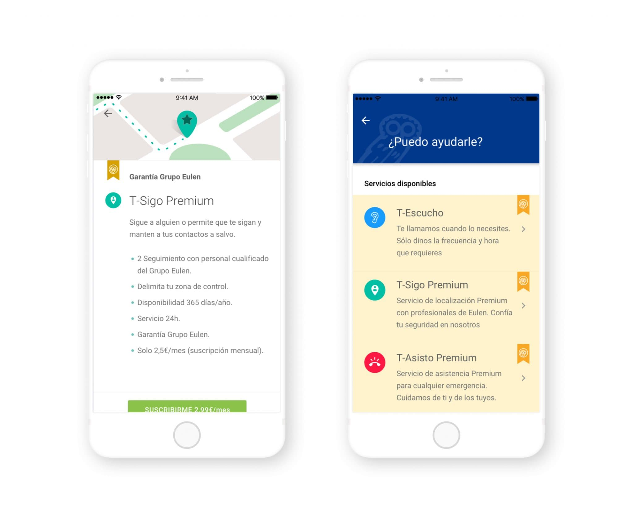 Eulen lanza la app de teleasistencia 'Acércate'