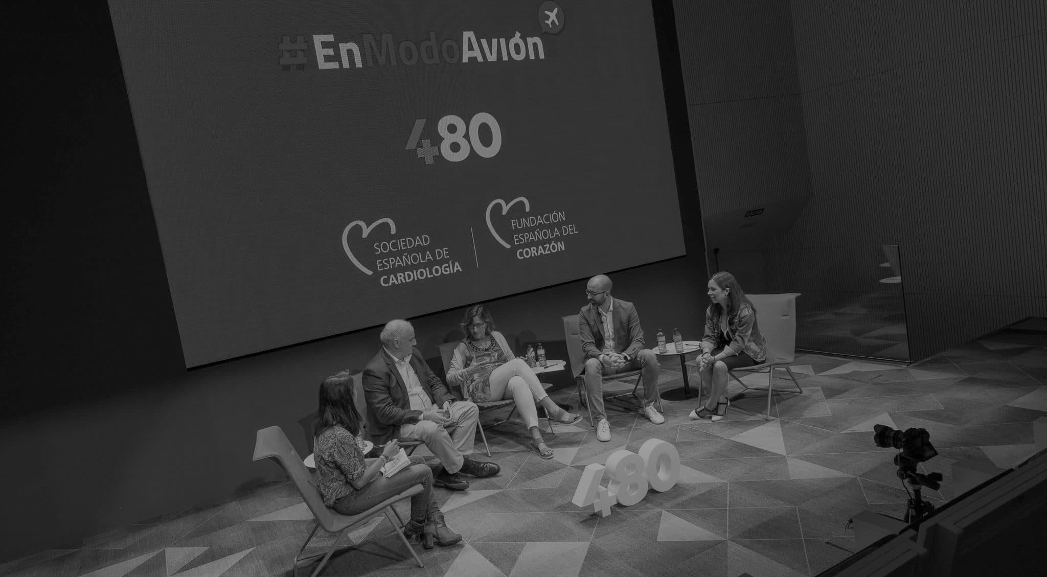 Charla #EnModoAvión sobre eHealth en Madrid