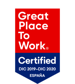<p><strong>Great Place to Work®</strong></p> <p>Certified</p> <p><strong>2020</strong></p>